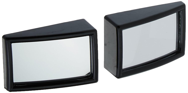 Sourcingmap 2 Pi/èces Auto Plastique Noir Boitier Convexe R/étroviseur Miroir dangle Mort