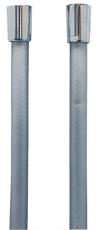beidseitig mit Konus AquaSu 72556 9 Brauseschlauch 1,50 m wei/ß