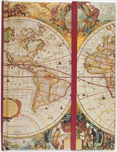 Old world journal notebook diary travel journal guided old world journal notebook diary travel journal guided journals full size foldover journals mara conlon 9781593594060 amazon books gumiabroncs Gallery