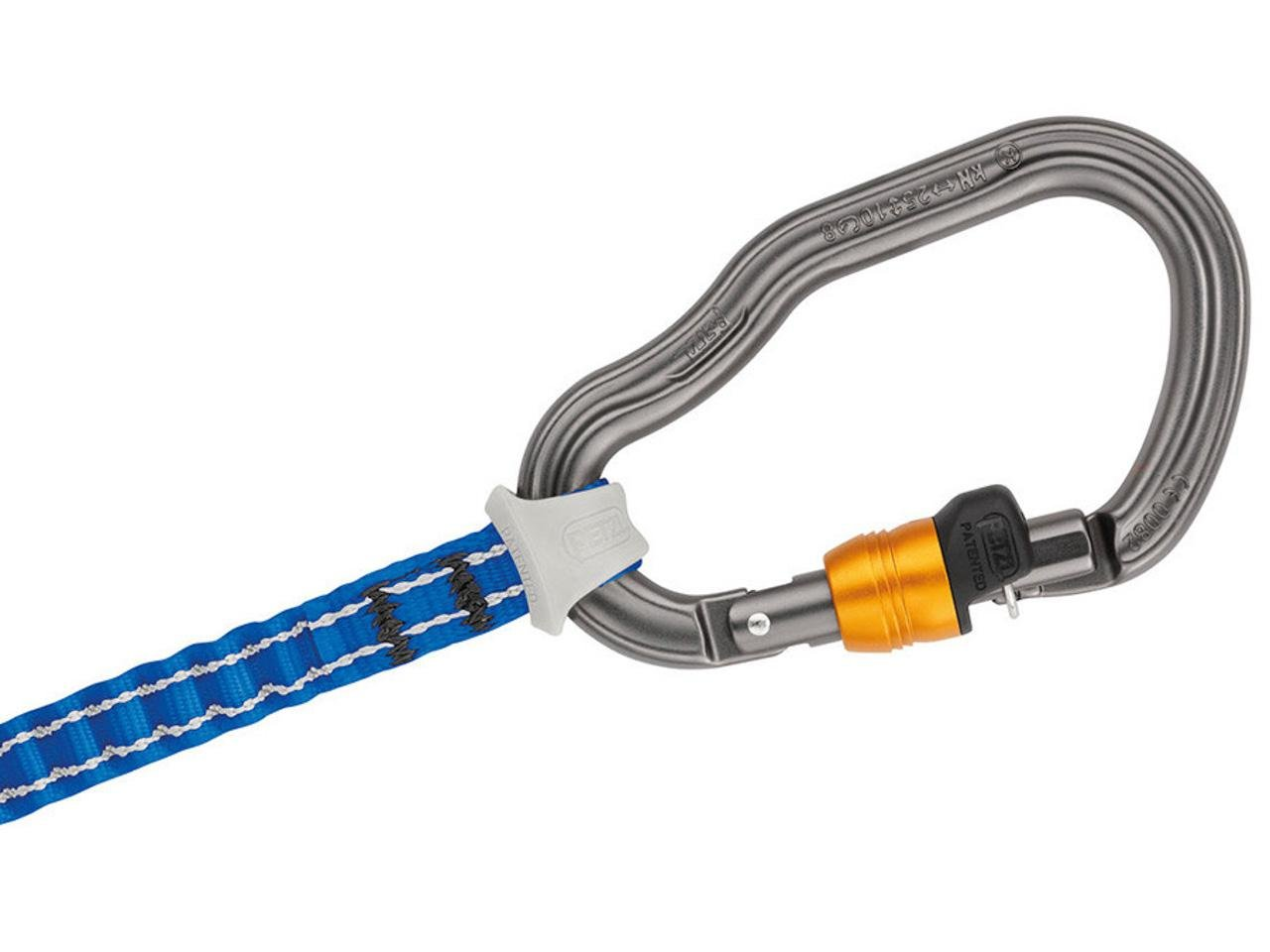 Klettersteigset Premium Attac : Petzl scorpio vertigo lanyard klettersteigset mehrfarbig uni