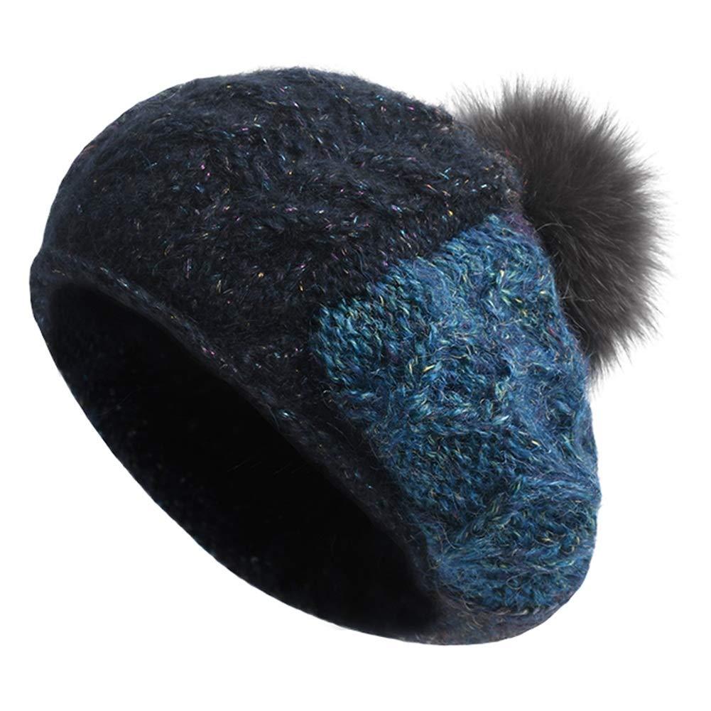 Strickmützen Hüte Mützen Warm Ski Unisex Mützen Stirnbänder Arbeiten Sie Beret Zufälliger Wilder Hut des Herbstes Und des Winters Um ZHANGGUOHUA