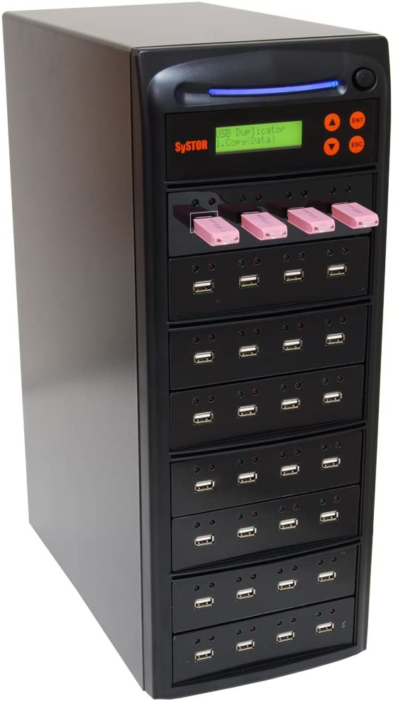 SYS-USBD-55 Systor 1 to 55 Multiple USB Thumb Drive Duplicator/USB ...