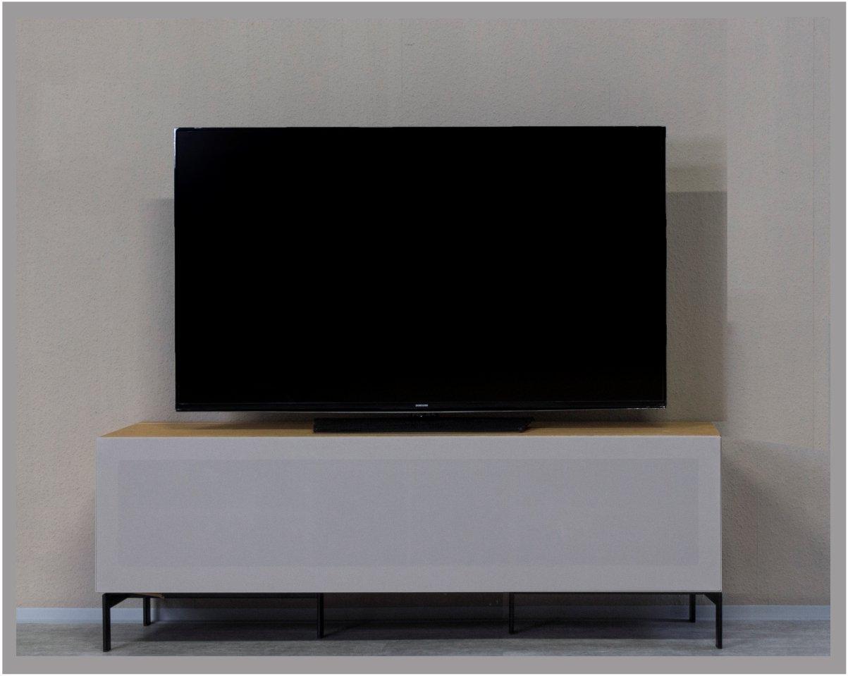 Kitoon TV-Lowboard Nr.2 (B 152 cm), Fußgestell, Nuß geölt (Echtholzfurnier)