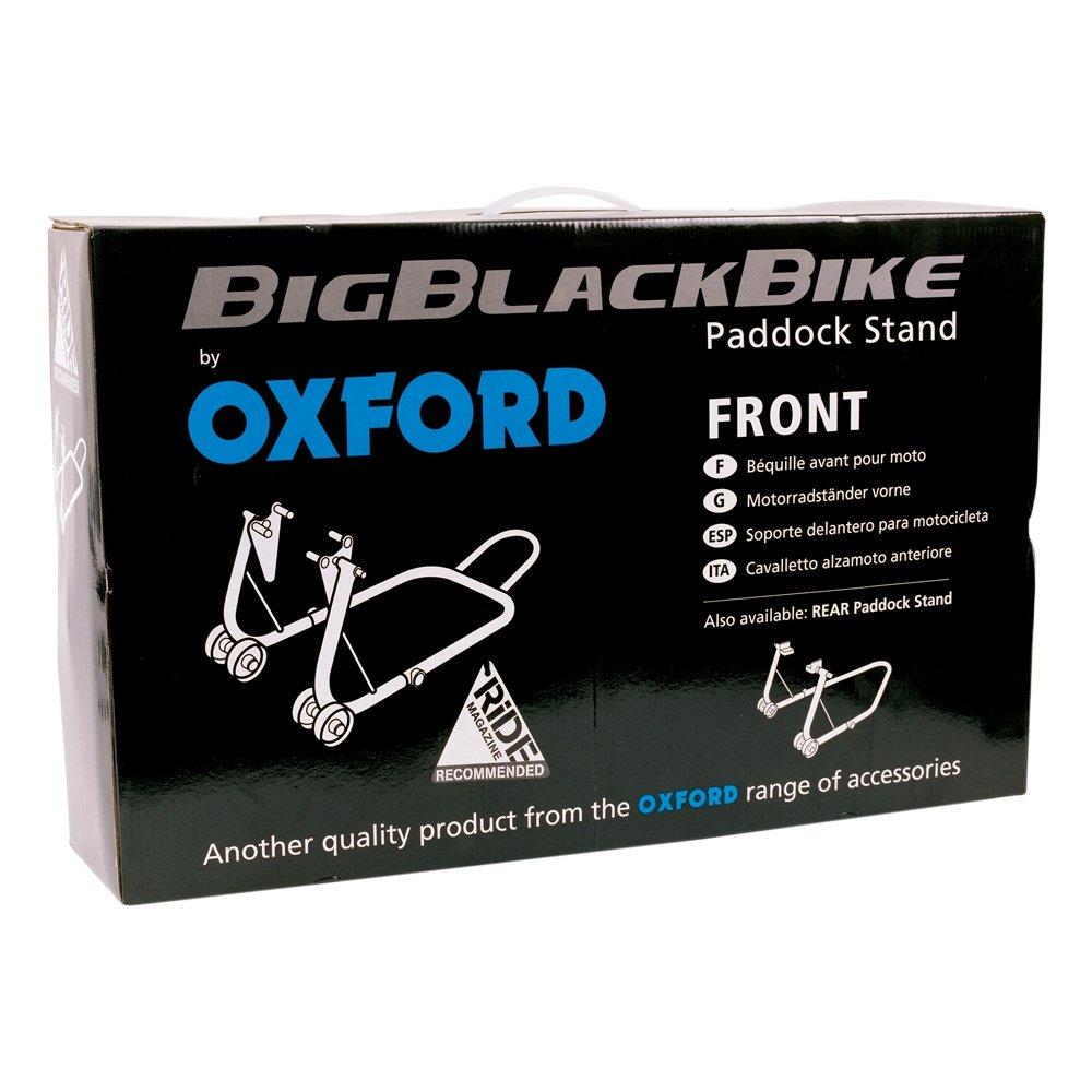 Oxford Motorbike Motorcycle Big Black Bike Front Paddock Stand SP822