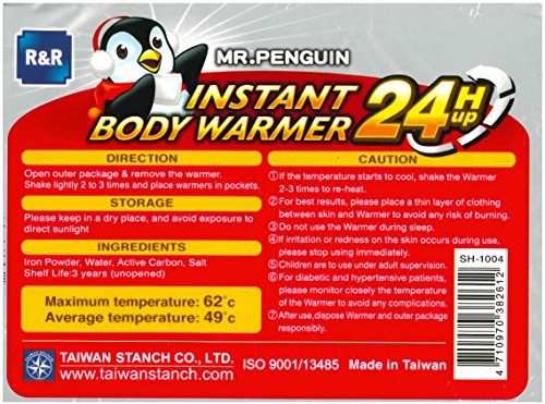 Mr.Penguin Body & Hand Super Warmer
