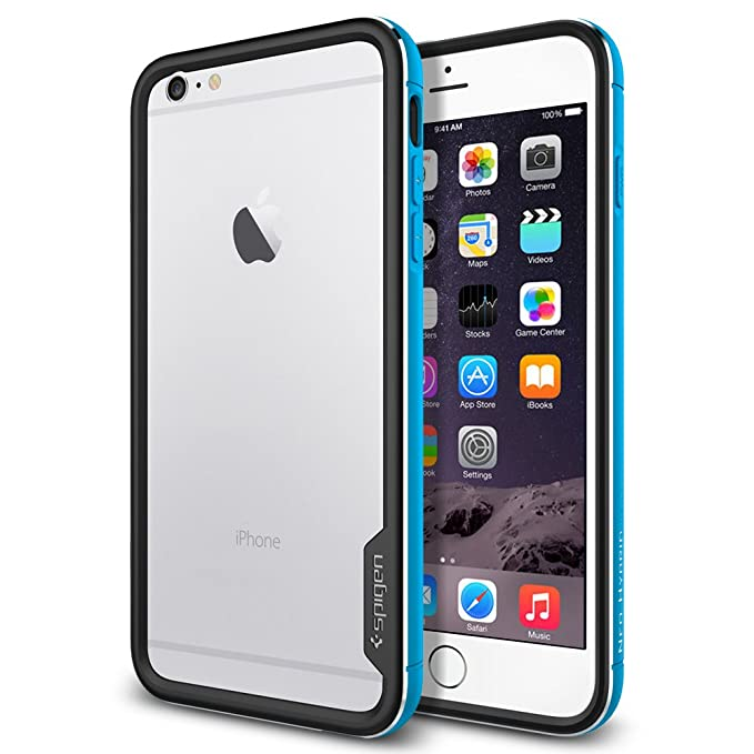 brand new 0ebcf b500b Spigen Neo Hybrid EX Metal iPhone 6 Plus Case with Flexible Inner Bumper  and Anodized Aluminum Metal Frame for iPhone 6S Plus / iPhone 6 Plus -  Metal ...