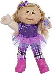 "Cabbage Patch Kids 14"" Kids - Blonde Hair/Brown Eye Girl Doll in Rocker Fashion"