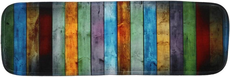 jieGorge Alfombra de Pascua decoración del hogar, 1 Pieza, Antideslizante, Forro Polar Coral, Resistente a la Intemperie, Multicolor