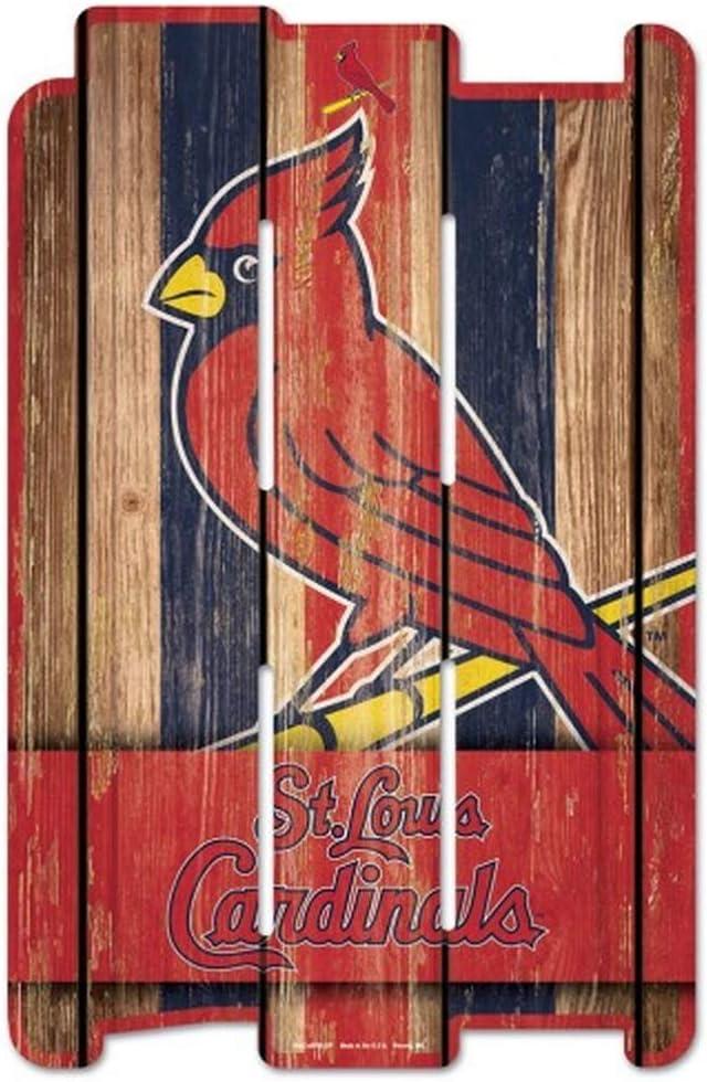 WinCraft MLB Wood Fence Sign