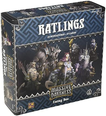 Massive Darkness: Ratlings Enemy Box: Amazon.es: Juguetes y juegos