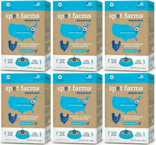 Spot Farms Dehydrated Chicken & Whole Grain Recipe 21lb (6 x 3.5lb) by Spot Farms