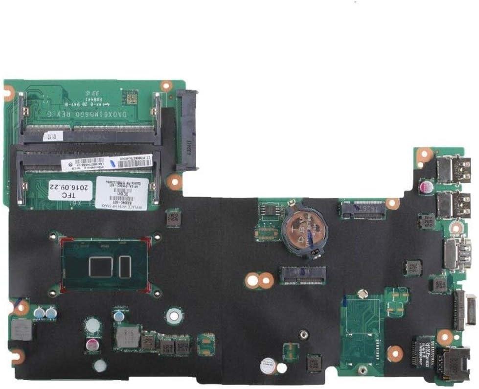 DINGZH-HANGZH pour HP Probook 430440 G3 830940-601 DA0X61MB6G0 SR2EZ I7-6500U DDR3L Carte Mère pour Ordinateur Portable Facile à Utiliser (Color : A) A