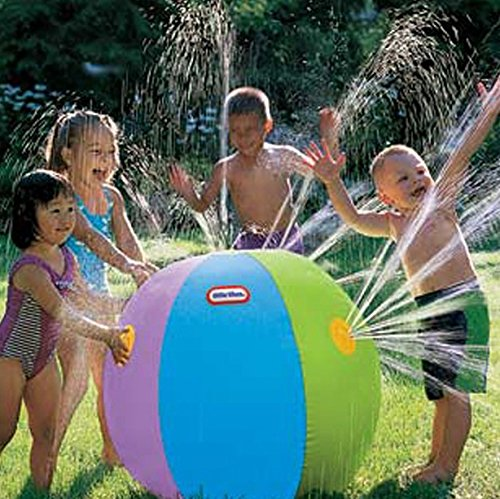 Children Kids Beach Ball Sprinkler
