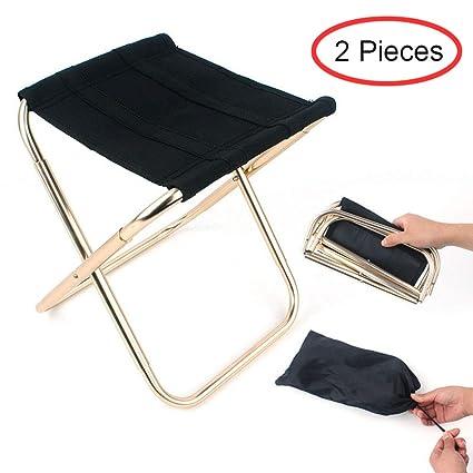 Mini Tabouret pliant portable Chaise pliante en plein air