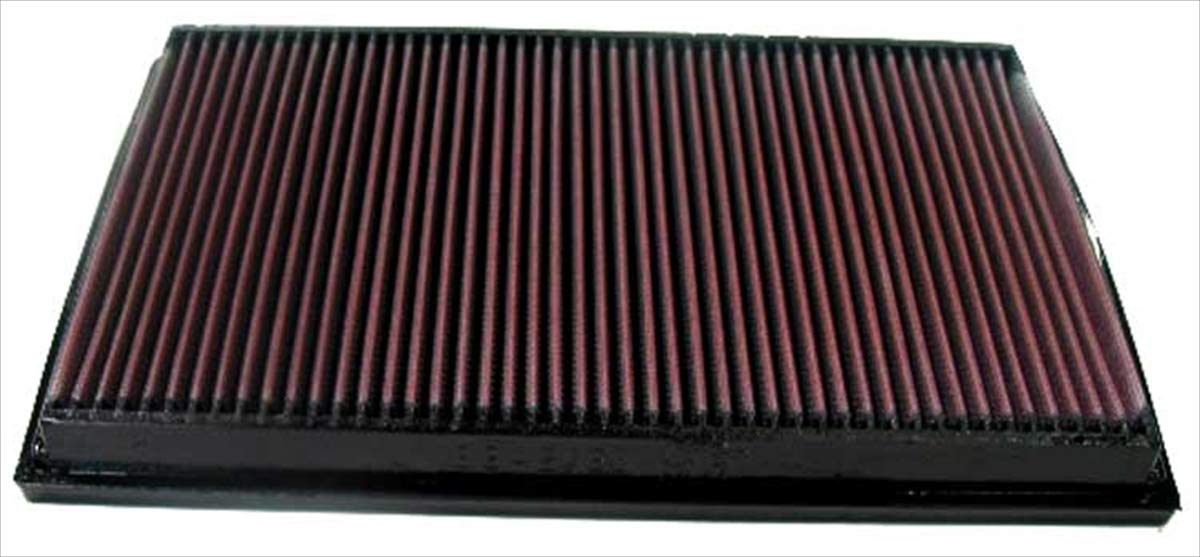 K/&N Filters 33-2750 Washable and Reusable Car Replacement Air Filter