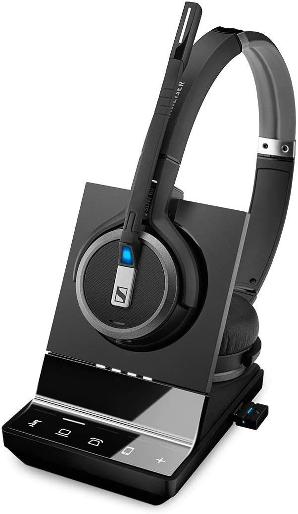 The Sennheiser SDW 5066 wireless headset travel product recommended by Liv Allen on Lifney.