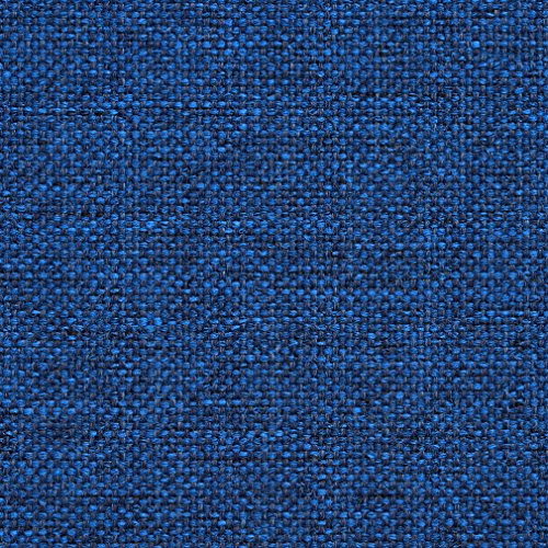 Sapphire Blue Checkered Weave Tweed Upholstery Fabric by the yard