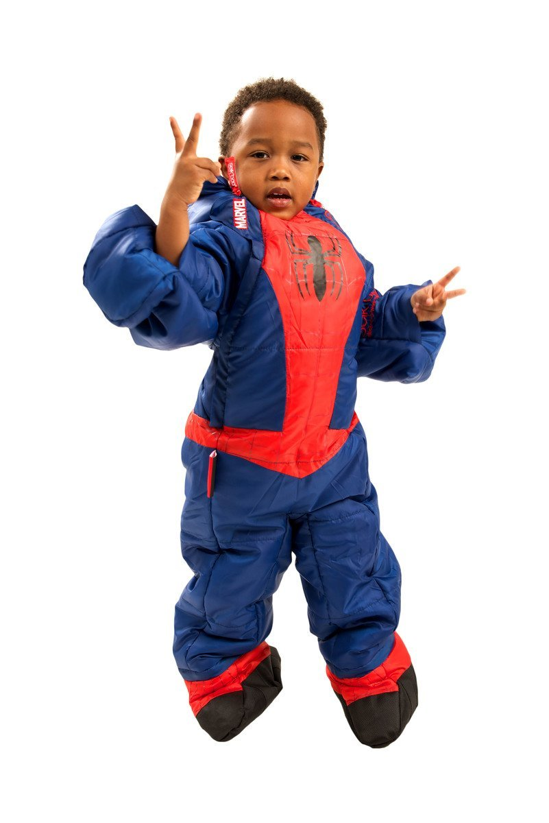 Saco de dormir Spiderman para niño - 3-4 años: Amazon.es: Deportes y aire libre