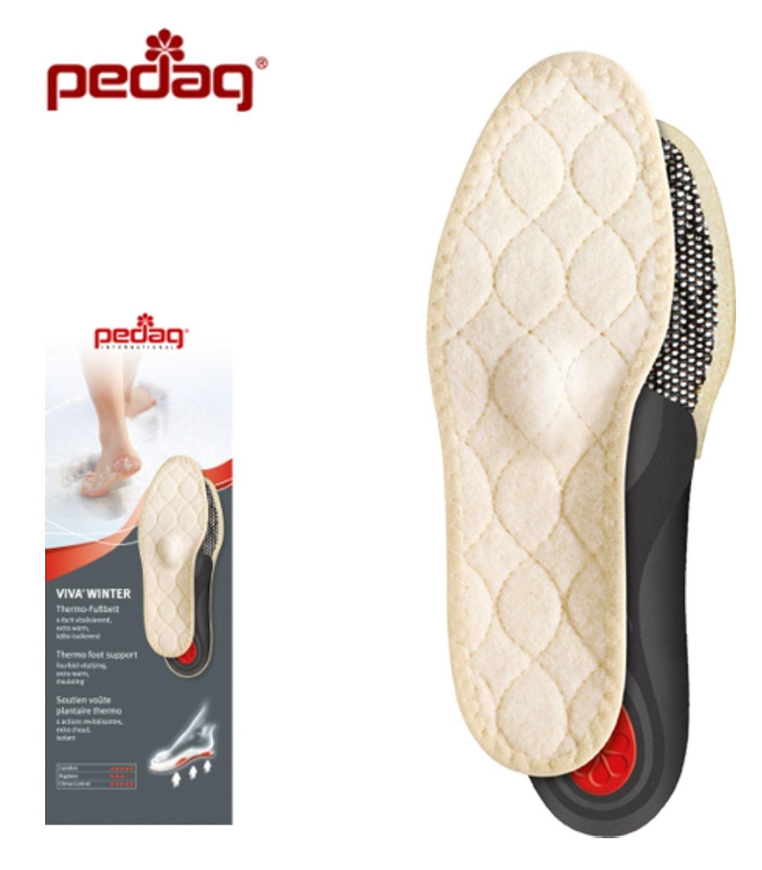 Pedag Leather Plantillas/Deportivas, Beige (Natural), 46 EU