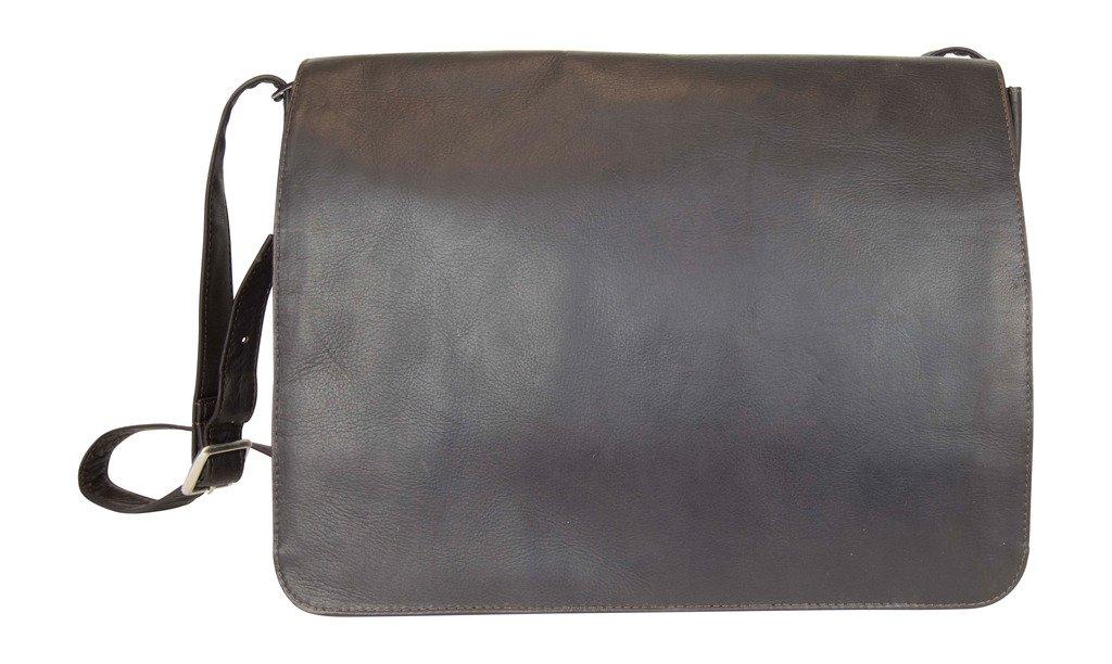 Latico Leathers Heritage Laptop Large Messenger, Authentic Luxury Leather, Designer Fashion, Top Quality Leather,  Cafe,