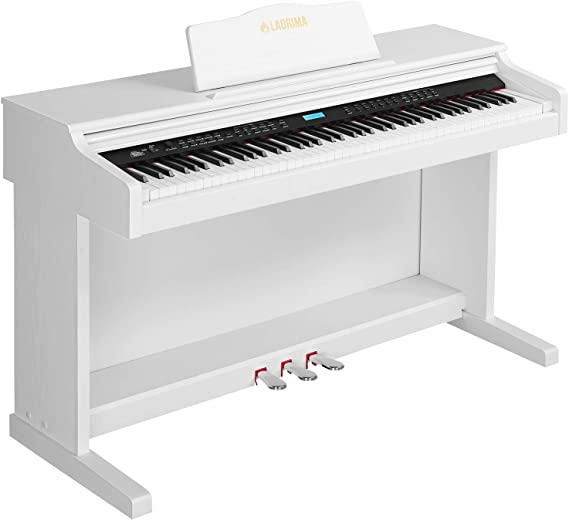 LAGRIMA White Digital Piano with Standard Key