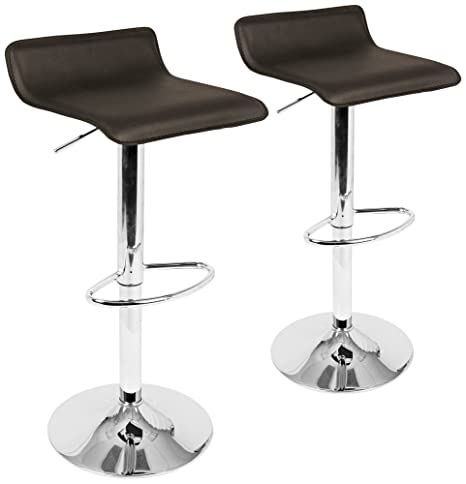 Fantastic Amazon Com Ale Brown Adjustable Swivel Bar Stools Set Of 2 Alphanode Cool Chair Designs And Ideas Alphanodeonline