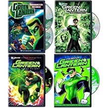 Green Lantern DC Animated Series 5-Disc Collection - Manhunter Menace - Season 1 - Part 2/ Emerald Knights/ First Flight/ The Best of Green Lantern