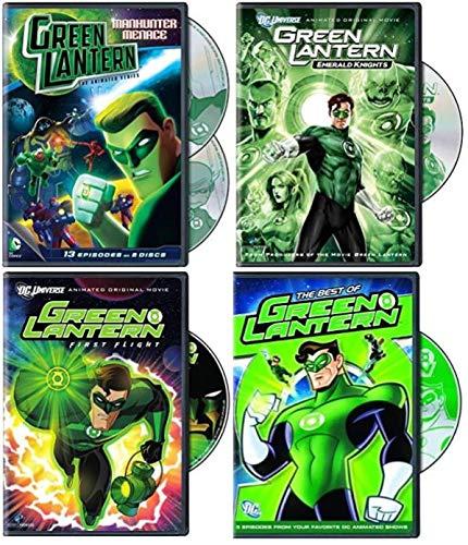 Green Lantern DC Animated Series 5-Disc Collection - Manhunter Menace - Season 1 - Part 2/ Emerald Knights/ First Flight/ The Best of Green Lantern