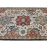 Mohawk Home Tibetan Market Bazaar Collection Rug In Charcoal - 6ft 3in x 10ft