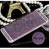 BNBUKLTD® Full Body Wrap Decal Vinyl Glitter Sticker Skin Cover For Apple Iphones (Apple iphone 6 6S, Purple)