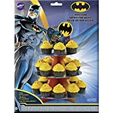 Wilton Batman Treat Stand, Multicolor