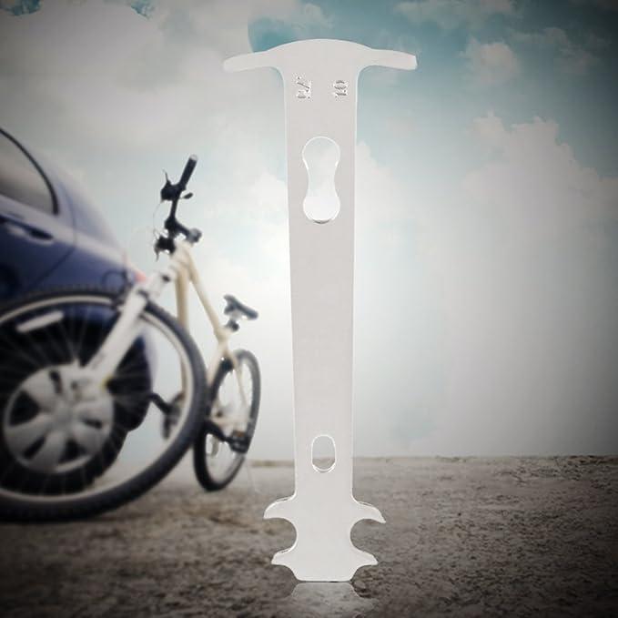 OUTAD Medidor de Cadena de la Bicicleta del Inspector Indicador de ...