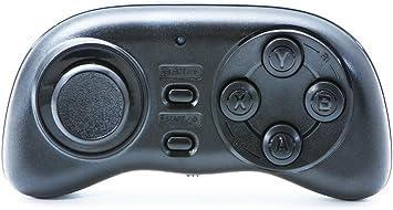 QUMOX mini Bluetooth Joystick GamePad controlador remoto para iOS teléfono Android Tablet PC VR Smart TV: Amazon.es: Electrónica