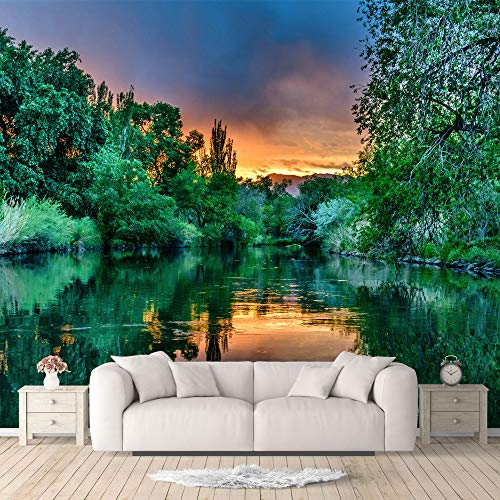 IDEA4WALL Wall Murals for Bedroom Beautiful Nature Norway Natural Landscape Large Removable Wallpaper Peel and Stick Wall Stickers - 66x96 inches