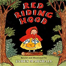 Red Riding Hood Audiobook by James Marshall Narrated by Donal Donnelly