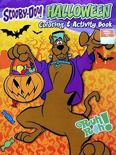 Scooby-Doo ~ Monsters! ~ Halloween Coloring & Activity Book: 8