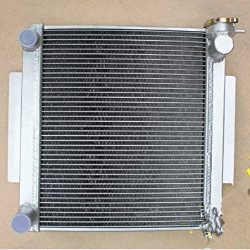 56MM RADIATOR+SHROUD+FAN FOR TOYOTA CELICA TA22//TA23 1.6L 2T MT 1973-1978 ALLOY
