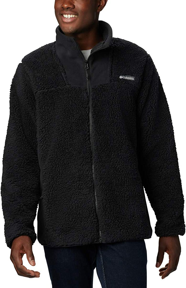 Amazon.com: Columbia Winter Fleece Men's Pass Full Zip Jacket Coat: Clothing