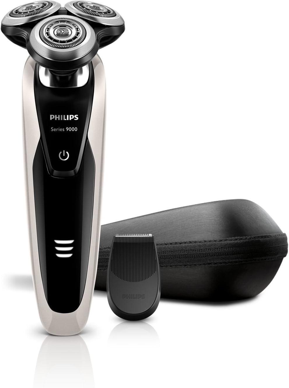 Philips SHAVER Series 9000 S9041/13 - Afeitadora (Negro, Plata, AC ...