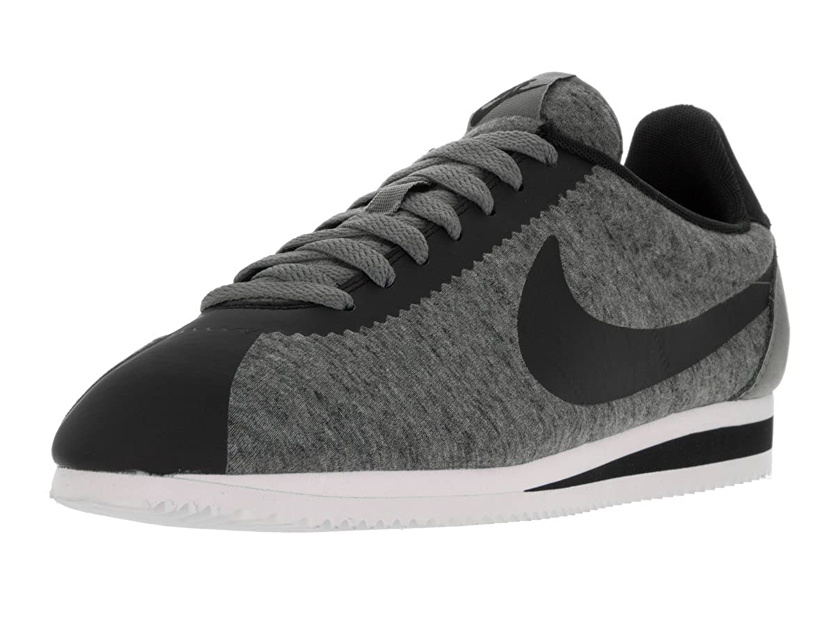new product cbea6 3ed0a NIKE Mens Classic Cortez Tech Fleece Pack GreyBlack 749654 002 UK 7 EUR 41  US 8 Amazon.co.uk Shoes  Bags