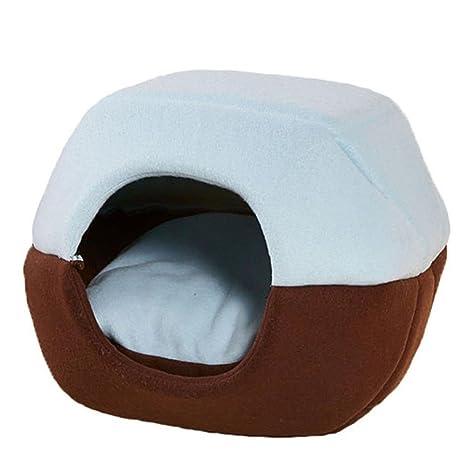 OWIKAR - Caseta para Mascotas, Gatos, Perros, yurts, Lindo, de algodón