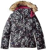 Roxy Big Girls' American Pie Snow Jacket, Ditsy Floral, 8/Small