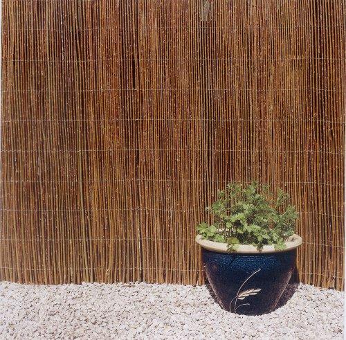 Weidenzaun150 x500cm Weiden-matte Sichtschutz Balkon Terrasse Garten inklusive 10 Kabelbinder !