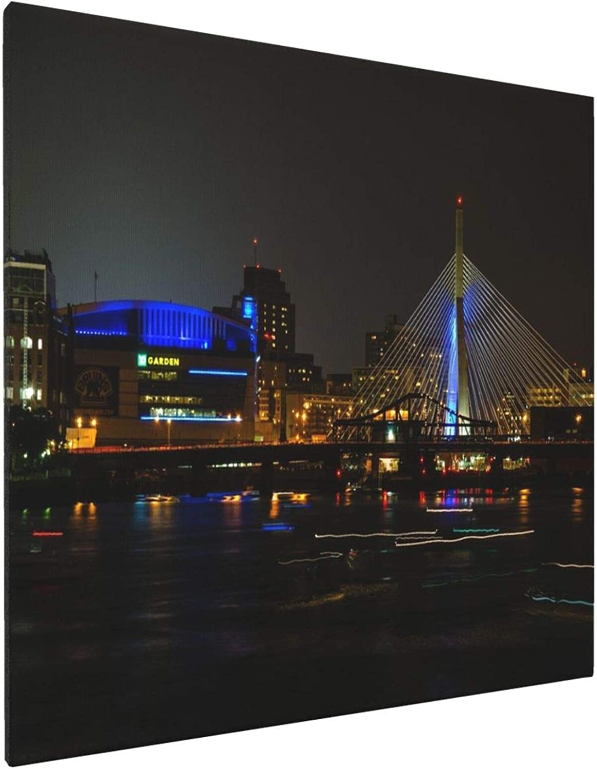 Td Garden at Night Home Bedroom Decor Wall Art Canvas Prints Artwork Painting Pictures 16
