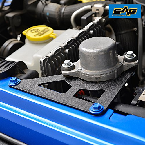 EAG 2007-2018 Jeep JK Wrangler Vacuum Pump Relocation Bracket Kit -  E-Autogrilles, JK110538