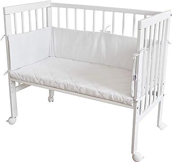 WALDIN Lit cododo pour bébé/berceau avec matelas et tour de lit ...