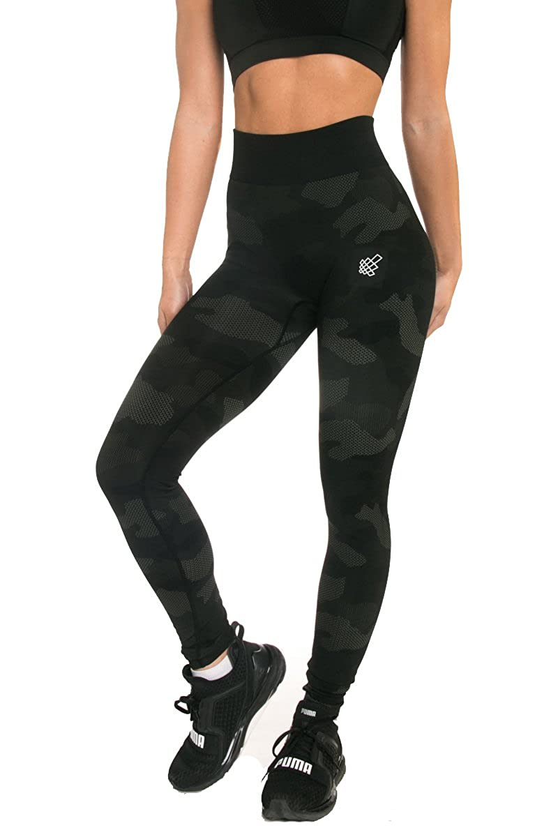 7e0ae6c8983fbe Jed North Women's Seamless Athletic Gym Fitness Workout Leggings at Amazon  Women's Clothing store: