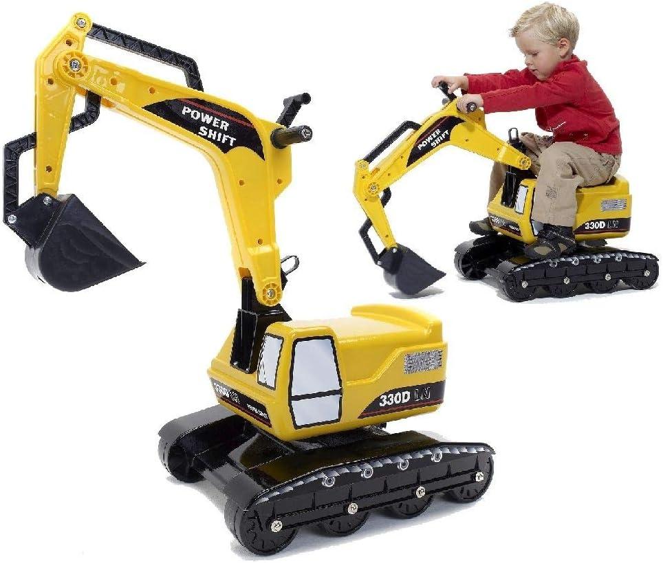 Falk Power Shift L100 - Excavadora triciclo para niños (2 a 5 años)