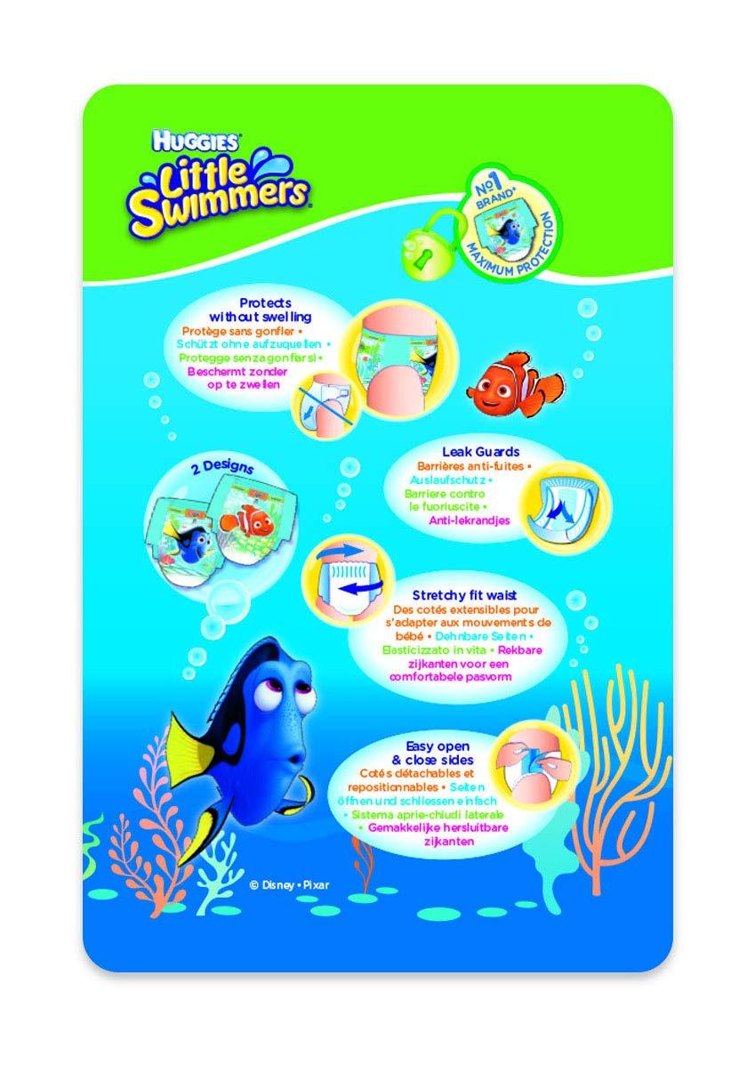 Huggies Little Swimmers Taille 3-4 Lot de 2 paquets de 12 7-15 kg Couche-Culotte de Bain pour B/éb/é x24 Culottes
