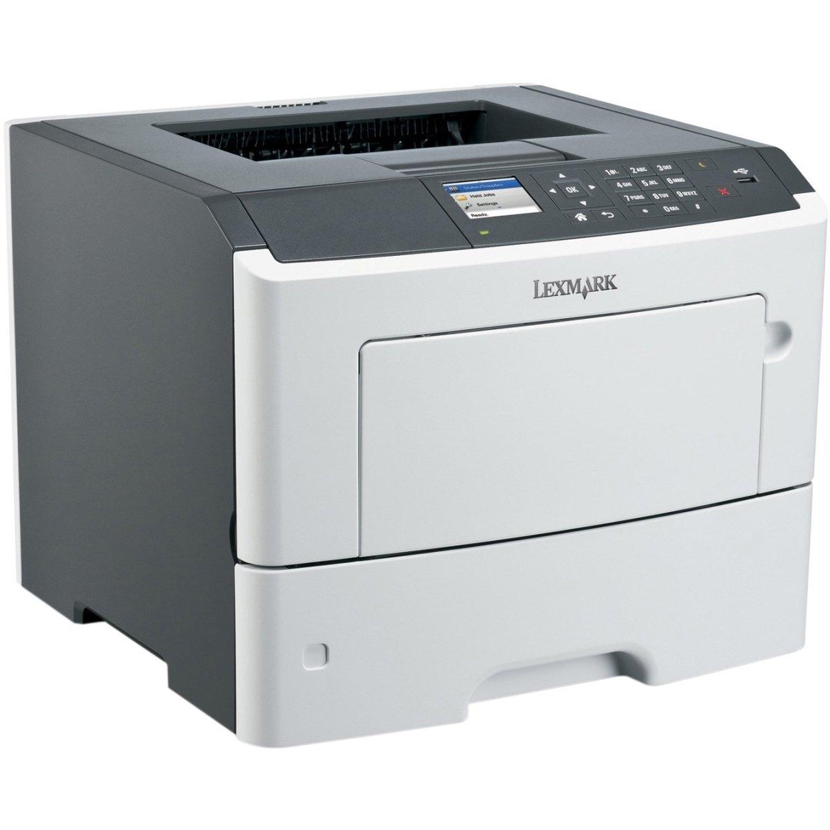 Lexmark 35ST414 MS610DN - LASER PRINTER - MONOCHROME - LASER - BLACK: 50 PPM - 1200 DPI X 1200 D